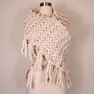 Free people Chunky Knitted Oversized wrap shawl